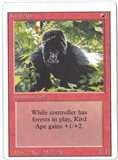 Magic the Gathering Revised Edition Single Kird Ape (MISCUT) - SLIGHT PLAY (SP)