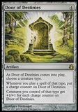 Magic the Gathering Morningtide Single Door of Destinies - MODERATE PLAY (MP)