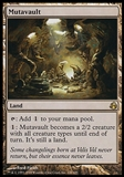 Magic the Gathering Morningtide Single Mutavault - MODERATE PLAY (MP)
