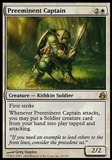 Magic the Gathering Morningtide Single Preeminent Captain FOIL - SLIGHT PLAY (SP)