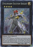 Yu-Gi-Oh Mega Pack 2014 1st Ed. Single Evilswarm Exciton Knight Secret Rare - SLIGHT PLAY (SP)