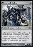 Magic the Gathering Fifth Dawn JAPANESE Single Mycosynth Golem - NEAR MINT (NM)