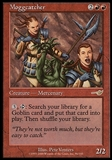 Magic the Gathering Nemesis Single Moggcatcher - SLIGHT PLAY (SP)