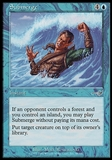 Magic the Gathering Nemesis Single Submerge - SLIGHT PLAY (SP)