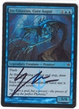 Magic the Gathering New Phyrexia SIGNED Single Jin-Gitaxias FOIL - NEAR MINT (NM)