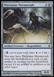 Magic the Gathering New Phyrexia Single Phyrexian Metamorph - SLIGHT PLAY (SP)