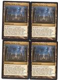 Magic the Gathering Theros PLAYSET Nykthos, Shrine to Nyx X4 - NEAR MINT (NM)