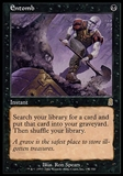 Magic the Gathering Odyssey Single Entomb - MODERATE PLAY (MP)