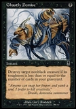 Magic the Gathering Odyssey Single Ghastly Demise FOIL - NEAR MINT (NM)