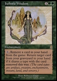 Magic the Gathering Odyssey Single Holistic Wisdom - NEAR MINt (NM)