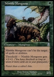 Magic the Gathering Odyssey Single Nimble Mongoose - SLIGHT PLAY (SP)