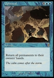 Magic the Gathering Odyssey Single Upheaval - SLIGHTLY PLAYED (SP)