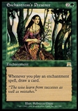 Magic the Gathering Onslaught Single Enchantress's Prescence - SLIGHT PLAY (SP)