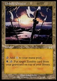 Magic the Gathering Onslaught Single Unholy Grotto FOIL - SLIGHT PLAY (SP)