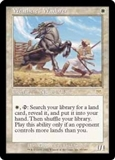 Magic the Gathering Onslaught Single Weathered Wayfarer - SLIGHT PLAY (SP)