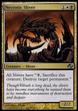 Magic the Gathering Planar Chaos Single Necrotic Sliver - SLIGHT PLAY (SP)