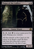 Magic the Gathering Planar Chaos Single Magus of the Coffers - MODERATE PLAY (MP)