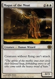 Magic the Gathering Planar Chaos Single Magus of the Moat - SLIGHT PLAY (SP)