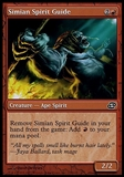 Magic the Gathering Planar Chaos Single Simian Spirit Guide FOIL - SLIGHT PLAY (SP)