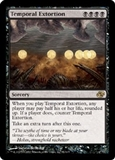 Magic the Gathering Planar Chaos Single Temporal Extortion - SLIGHT PALY (SP)