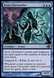 Magic the Gathering Planar Chaos Single Aeon Chronicler FOIL - SLIGHT PLAY (SP)