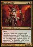 Magic the Gathering Planechase Single Bloodbraid Elf - NEAR MINT (NM)