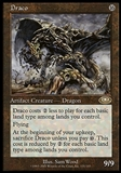 Magic the Gathering Planeshift Single Draco - HIGH PLAY (HP)