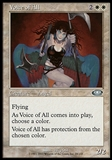 Magic the Gathering Planeshift Single Voice of All FOIL - NEAR MINT (NM)