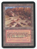 Magic the Gathering Alpha Single Plateau - MODERATE PLAY (MP)