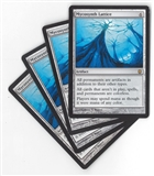 Magic the Gathering Darksteel PLAYSET Mycosynth Lattice X4 - SLIGHT PLAY (SP)