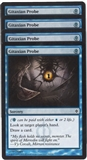 Magic the Gathering New Phyrexia PLAYSET Gitaxian Probe X4 - NEAR MINT (NM)