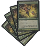 Magic the Gathering Planar Chaos PLAYSET Keen Sense X4 - MODERATE PLAY (MP)