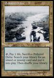 Magic the Gathering Onslaught CHINESE Single Polluted Delta - SLIGHT PLAY (SP)