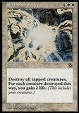Magic the Gathering Portal: Second Age Single Righteous Fury - SLIGHT PLAY (SP)