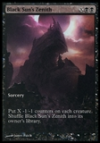 Magic the Gathering Promotional Single Black Sun's Zenith FOIL - NEAR MINT (NM)