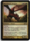 Magic the Gathering Promotional Single Broodmate Dragon - NEAR MINT (NM)