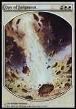 Magic the Gathering Promotional Single Day of Judgment (TEXTLESS FOIL) - SLIGHT PLAY