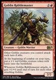 Magic the Gathering Promotional Single Goblin Rabblemaster FOIL - NEAR MINT (NM)