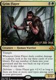 Magic the Gathering Prerelease Single Grim Flayer FOIL - NEAR MINT (NM)