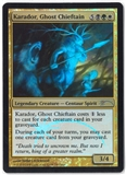 Magic the Gathering Promotional Single Karador, Ghost Chiettain (Judge Foil) - NEAR MINT