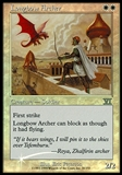 Magic the Gathering Promotional Single Longbow Archer FOIL (FNM) - NEAR MINT (NM)