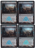 Magic the Gathering Promotional PLAYSET Maze's End FOIL X4 - NEAR MINT (NM)
