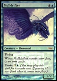 Magic the Gathering Promotional Single Mulldrifter FOIL - NEAR MINT (NM)