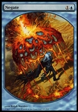 Magic the Gathering Promotional Single Negate (TEXTLESS) - NEAR MINT (NM)