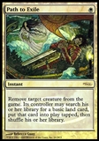 Magic the Gathering Promotional FNM Single Path to Exile - SLIGHT PLAY (SP)