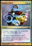 Magic the Gathering Promotional Single Render Silent (Buy-A-Box) - NEAR MINT (NM)