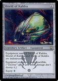 Magic the Gathering Prerelease Single Shield of Kaldra FOIL - SLIGHT PLAY (SP)