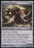 Magic the Gathering Promotional Single Wurmcoil Engine FOIL (Prerelease) - SLIGHT PLAY