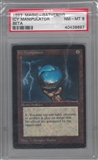 Magic the Gathering Beta Single Icy Manipulator PSA 8 *40439697*