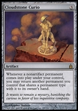 Magic the Gathering Ravnica Single Cloudstone Curio - SLIGHT PLAY (SP)